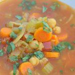 Moroccan Garbanzo Soup