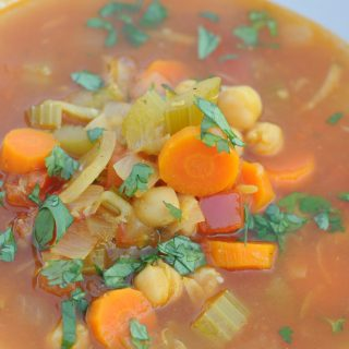 Moroccan Garbanzo Soup