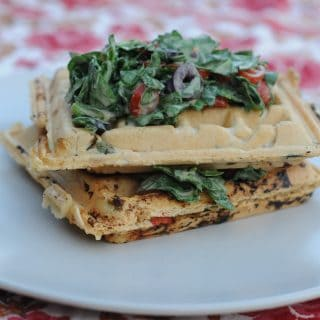 Savory (and Sweet) Stuffed Waffles