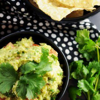 Easy Vegan Kid Friendly Guacamole