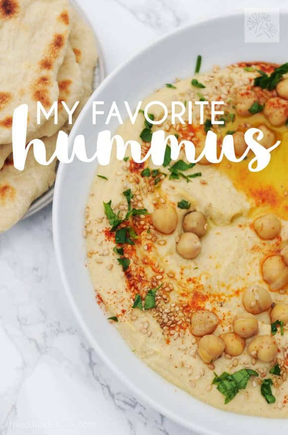fried dandelions // my favorite hummus