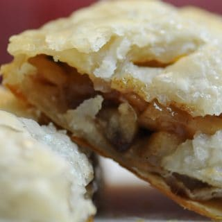 Apple Hand Pies with Rum Raisins