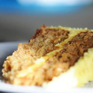 Ultra Orange Birthday Cake