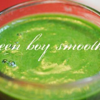 Green Boy Smoothie