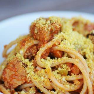 fried dandelions // easy pasta sauce