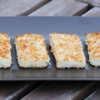 Coconut Crusted Tofu