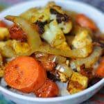 Roasted Veggie Fajitas
