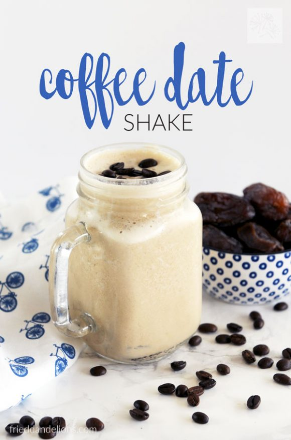 This quick and easy Coffee Date Shake is sure to get you up and running in the morning! Packed with protein and naturally sweetened, it's one of my go to breakfasts! (vegan, gluten free, soy free, nut free)