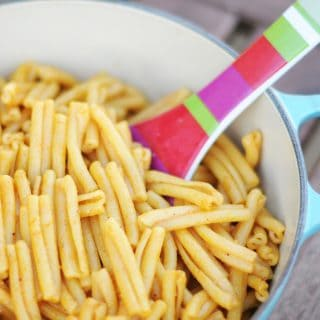 Vegan Homemade Boxed Macaroni and Cheese