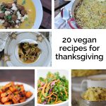 20 Vegan Recipes for Thanksgiving!