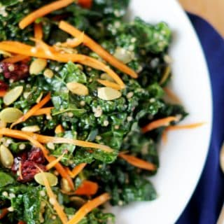 Cranberry Kale Crunch