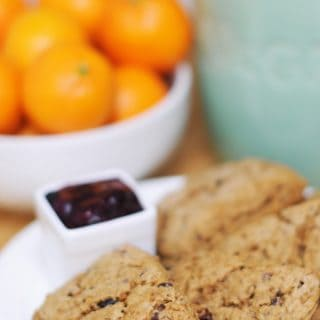 Orange Cacao Scones from Superfoods 24/7 + a giveaway!