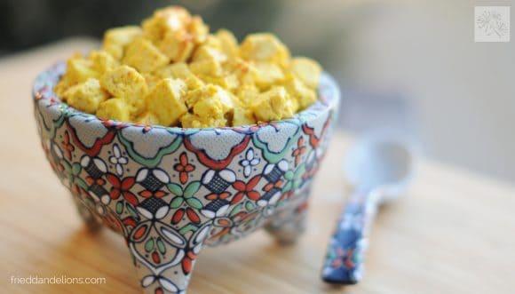 My Favorite Vegan Holiday Recipes — Fajita Tofu Scramble