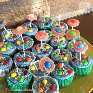 Soda Boxed Cake Mix Hack — Space Cakes and Planet Pops