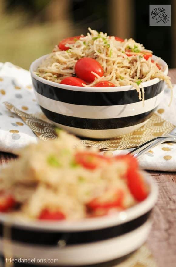 pastafried dandelions // walnut feta pesto8
