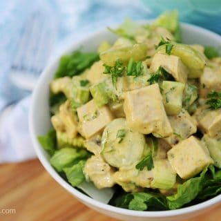 Curried Chicken Salad—VEGAN!