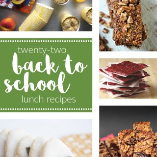 22 Back to School Lunch Recipes