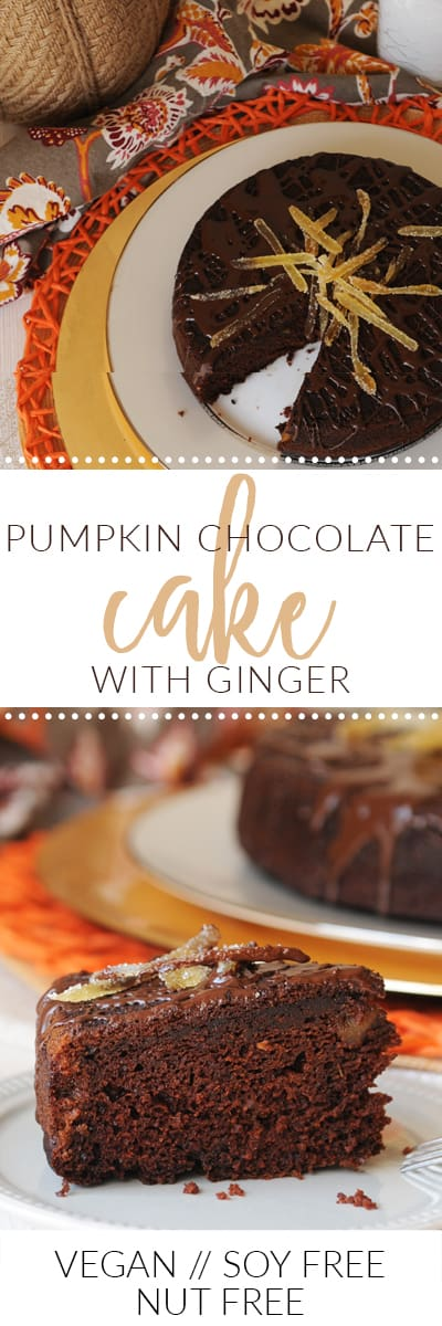 fried dandelions // pumpkin chocolate cake with ginger