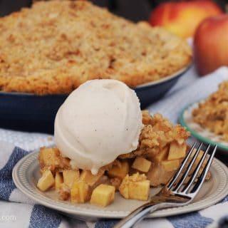 Aunt Betty's Vegan Apple Pie