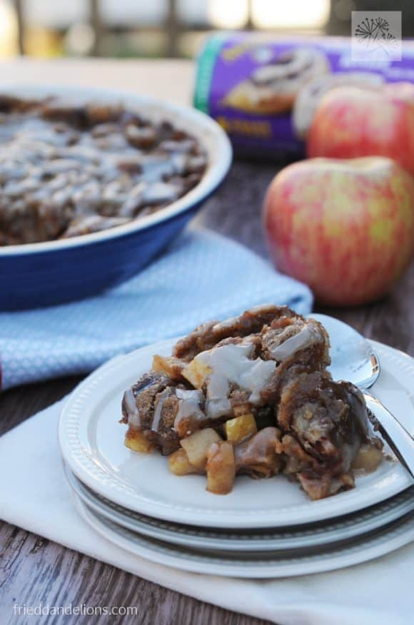 My Favorite Vegan Holiday Recipes — Cinnamon Roll Bread Pudding