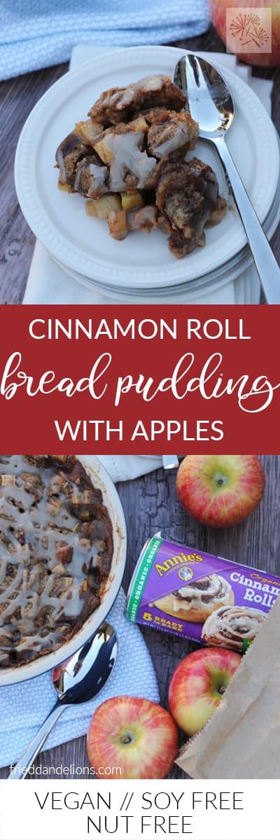 fried dandelions // cinnamon roll bread pudding