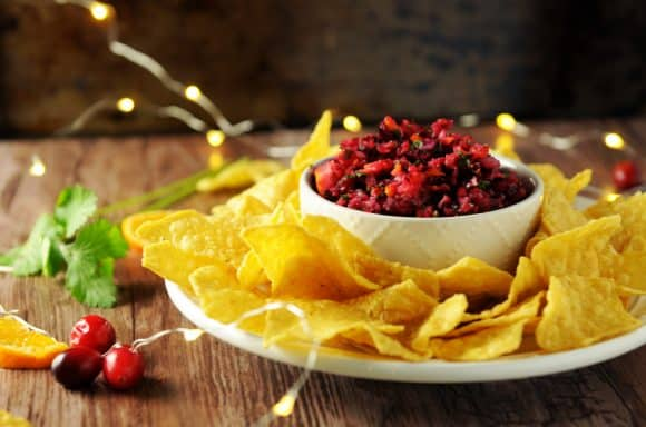 cranberry salsa for christmas