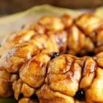 Vegan Monkey Bread with Apples and Cranberries