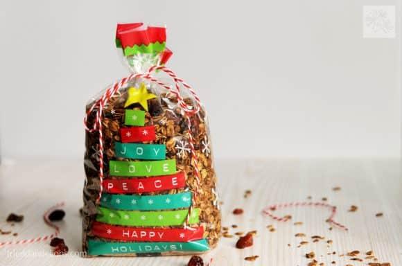 fried dandelions // spice cookie granola