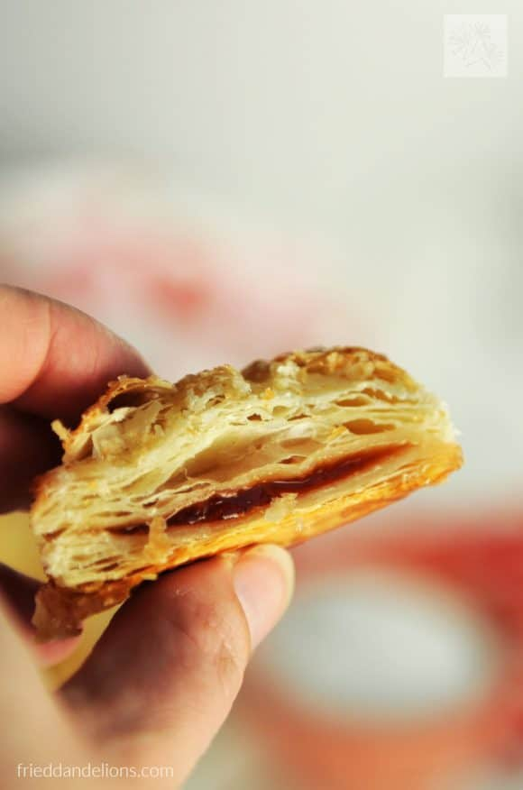 Pastelitos de Guayaba are a delicious dessert, popular in bakeries all over Latin America! You'll love making these simple treats in your own kitchen! (vegan, soy free, nut free)