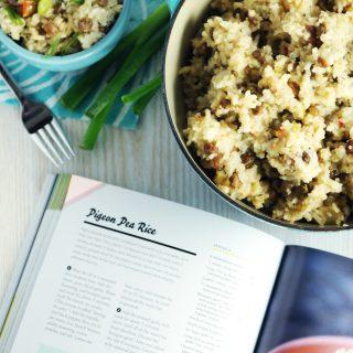 Pigeon Pea Rice — and Review of Caribbean Vegan