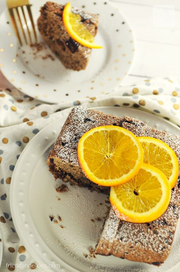 Make a Holiday Orange Spice Cake in the Instant Pot! Total game changer! (vegan, soy free, nut free)