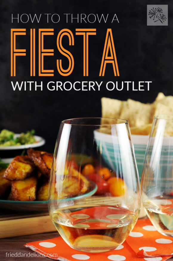 Warm weather is just around the corner! Let me show you how to throw a perfect fiesta with the help of Grocery Outlet! (vegan, gluten free, soy free, nut free)