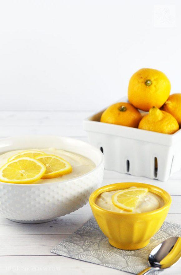 Lemon Jello Salad is my vegan spin on the all American classic side dish! (vegan, gluten free, nut free)