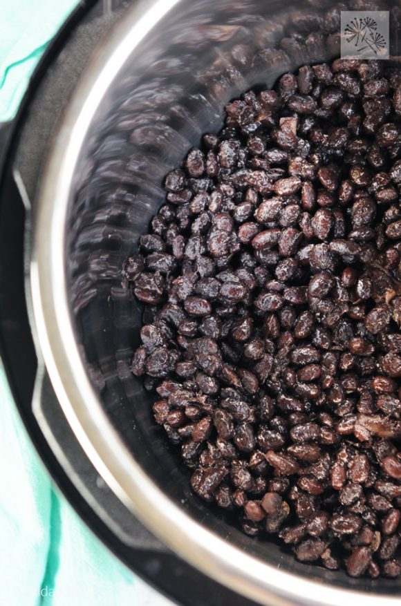black beans made in instant pot, kitchen gadgets