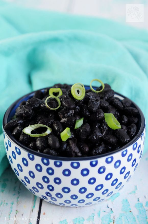 How to Make Perfect Black Beans in Your Instant Pot (vegan, gluten free, soy free, nut free)