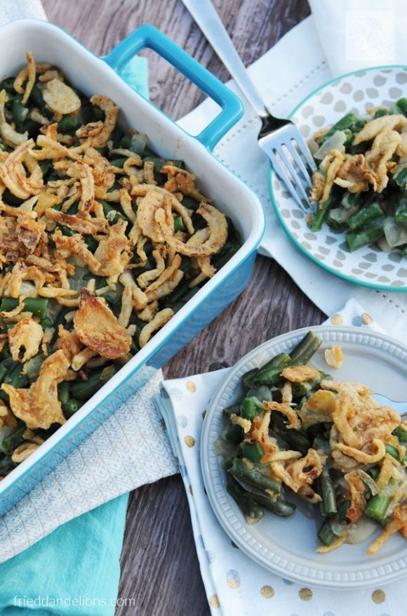 My Favorite Vegan Holiday Recipes — Vegan Green Bean Casserole