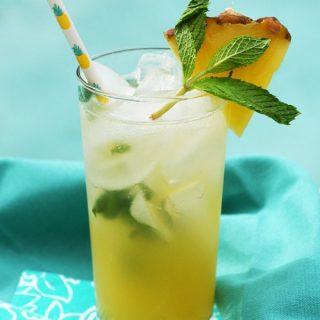 pineapple mojito full shot