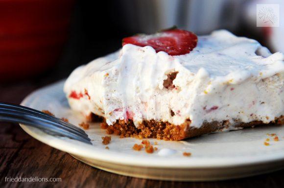 bite of Strawberry Shortcake Ice Cream Bars