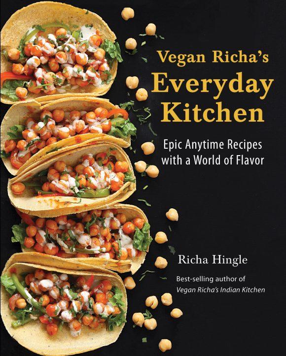 Cover of Vegan Richa's Everyday Kitchen cookbook