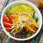 Cantina Greens Bowl with Turmeric Paprika Vinaigrette