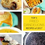Top 5 Fried Dandelions Recipes of 2017