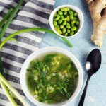 Edamame Miso Soup from Awesome Vegan Soups