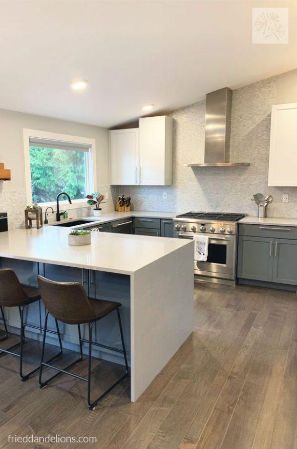 My 50 Shades Of Grey Kitchen Renovation