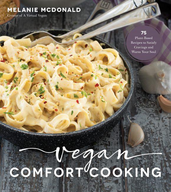 cover of vegan comfort cooking cookbook